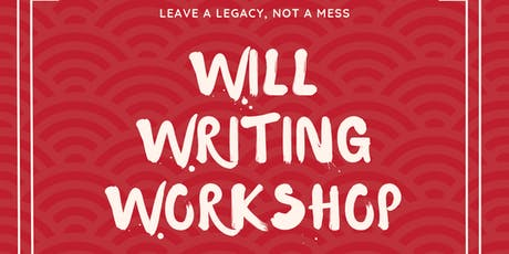 Leave a Legacy, Not a Mess: Free Will Writing Workshop and Product Orientation tickets