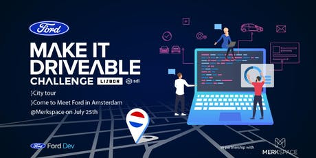Ford in Amsterdam to Meet with Startups tickets