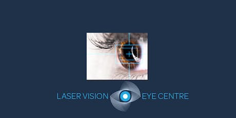 FREE Laser Eye Surgery Event  - Chandlers Ford -  5th December 2019 tickets