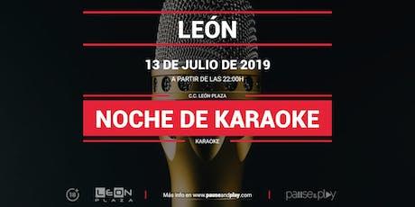 Noche de Karaoke en Pause&Play León Plaza entradas