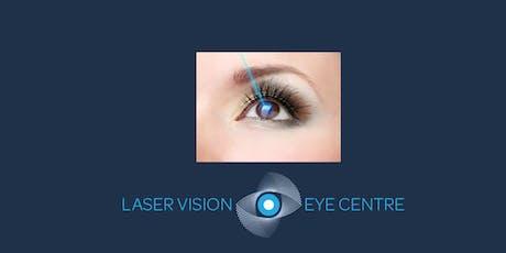 FREE Laser Eye Surgery Event, Jersey - 6th December 2019 tickets