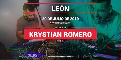Sesion Dj Krystian Romero en Pause&Play León Plaza