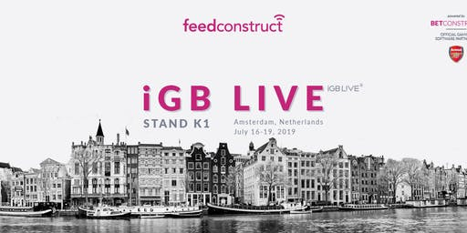 FeedConstruct at iGB L!VE