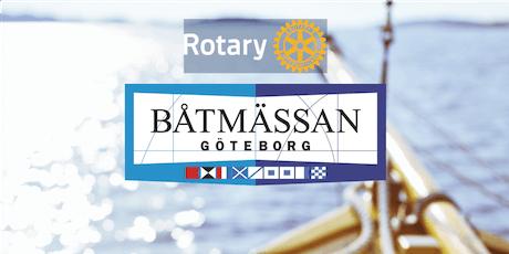 Träffa Rotary på båtmässan tickets