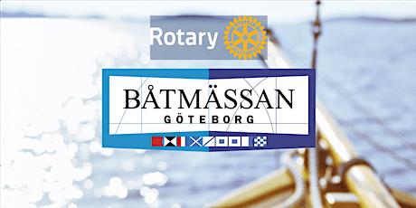 Träffa Rotary på båtmässan biljetter