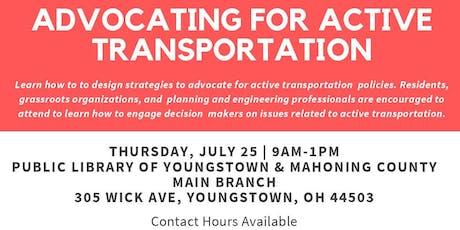 Advocating for Active Transportation Workshop tickets