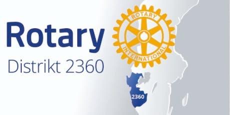 Rotary Distriktskonferens 2360 tickets