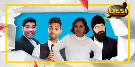 Desi Central Comedy Show : Southampton tickets