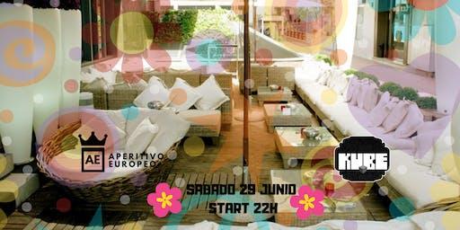 Flower Party @Terraza KUBE con catering gratuito y regalos