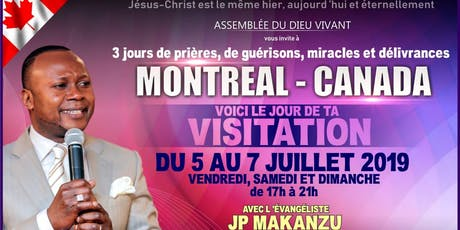 Ev. JP Makanzu !!! Voici le Jour de ta Visitation. tickets