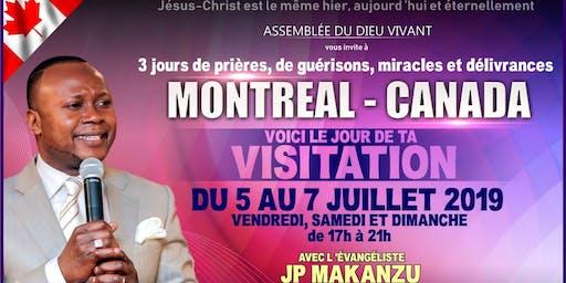 Ev. JP Makanzu !!! Voici le Jour de ta Visitation.