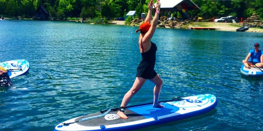 Intro to Stand Up PaddleBoard Yoga (SUP Yoga)