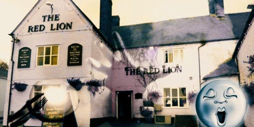 The Red Lion Inn Ghost Hunt Supper ( Huntley) with Optional sleepover £32 PP