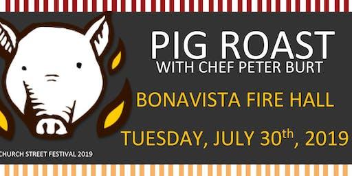 Pig Roast with Chef Peter Burt