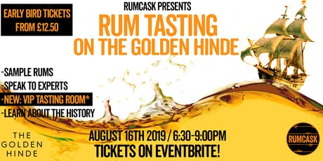 National Rum Day Rum Tasting  tickets