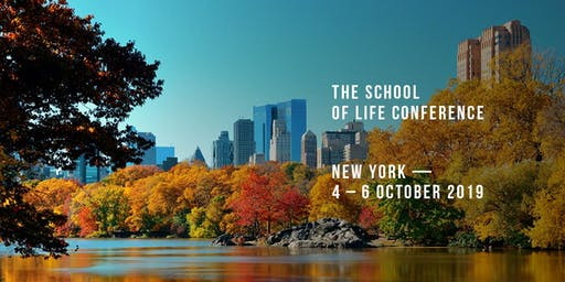 The School of Life Conference - New York (GBP)