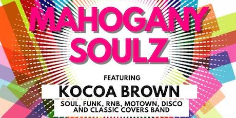 Mahogany Soulz live and loud at Royal Standard Blackheath tickets