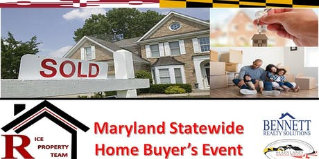MARYLAND STATEWIDE HOME BUYER'S EVENT tickets