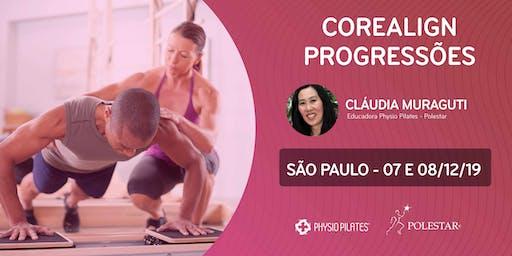 Formação em CoreAlign - Módulo Progressões - Physio Pilates Balanced Body - São Paulo