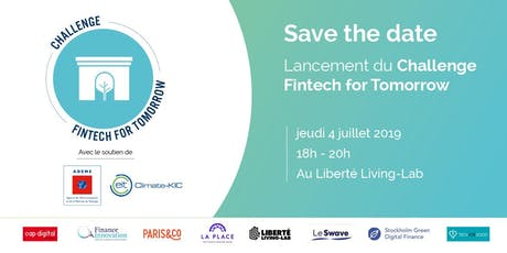 Lancement du Challenge Fintech for Tomorrow 2019 tickets
