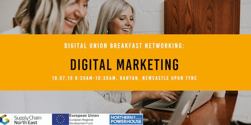 Digital Union Breakfast Networking: Digital Marketing