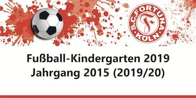 Anmeldung Fußball-Kindergarten - Jahrgang 2015 - SC Fortuna Köln - 2019/20