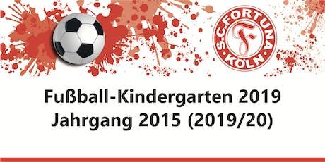 Anmeldung Fußball-Kindergarten - Jahrgang 2015 - SC Fortuna Köln - 2019/20 Tickets