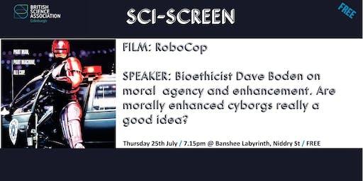 SciScreen: RoboCop