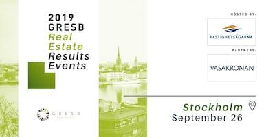 2019 GRESB Real Estate Results | Stockholm