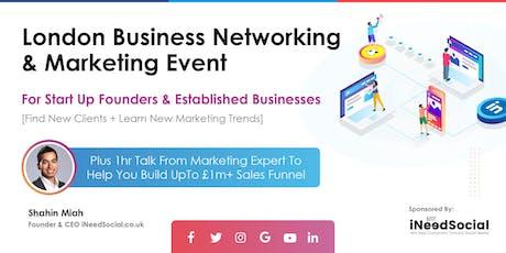 London Business Networking & Marketing Event for Inspiring Entrepreneur tickets