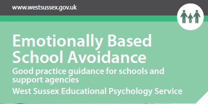 Emotionally Based School Avoidance (EBSA)