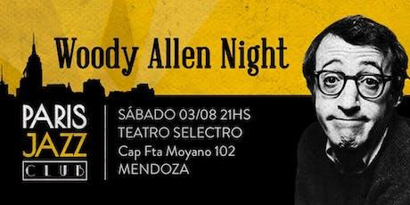 Woody Allen Night por Paris Jazz Club ( SAB 03 AGO) tickets