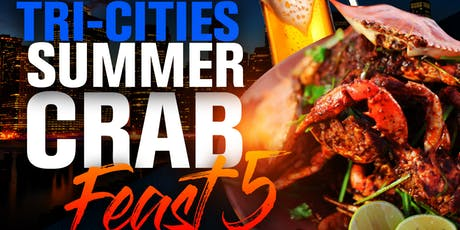 Tri-Cities Summer Crab Feast 5 tickets
