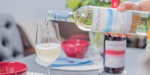 A Five-Course Winemakers Dinner with Lucio Matricardi of Mezzacorona, Stemmari and Rotari Wines