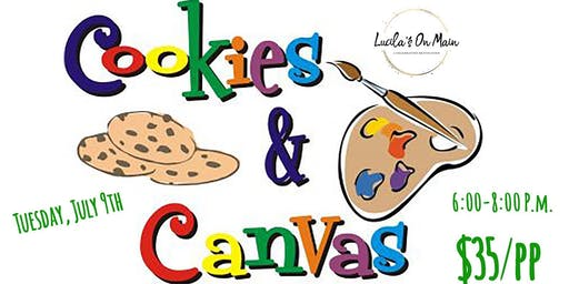 Cookies & Canvas- Kid's Night!