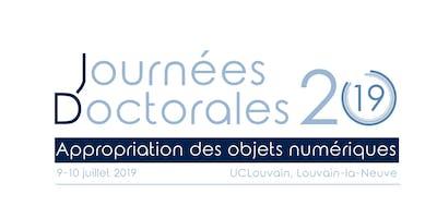 Journées Doctorales 2019 - Appropriation des objets numériques