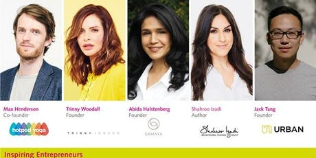 Live Screening - Inspiring Entrepreneurs: The Wellness Edition tickets