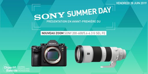 SONY SUMMER DAY #COMING #SOON