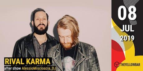 Rival Karma - The Yellow Bar biglietti