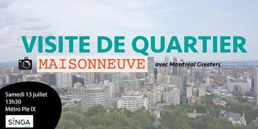 Visite de Montréal avec Greeters