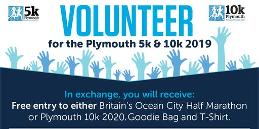 Plymouth 10k & 5k Volunteers Briefing - Tuesday 1st October