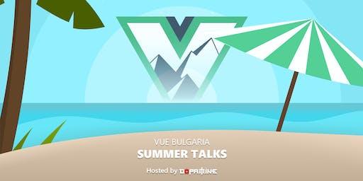 VueBulgaria Summer Talks