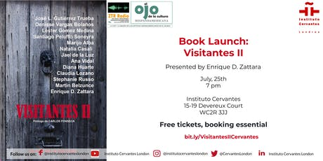 Book Launch: Visitantes II tickets