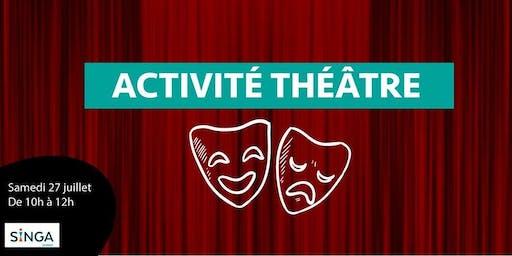 Activité Théâtre