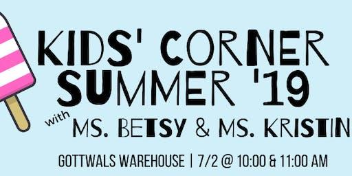 Kids' Corner with Betsy & Kristin