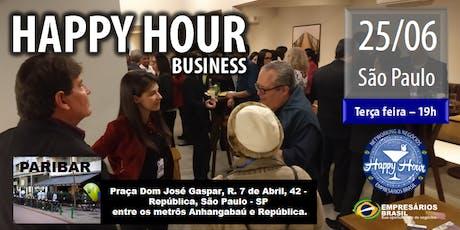 Happy Hour Business - CENTRO -SP ingressos
