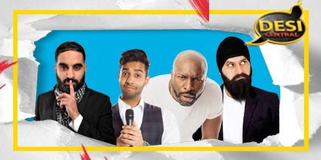 Desi Central Comedy Show : Hornchurch tickets