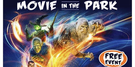 MOVIES IN THE Park - Cypress Grove Park