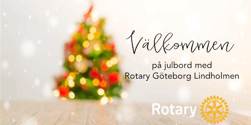 FULLBOKAT!! Julbord (lunch) för Rotary Lindholmen & gäster