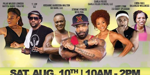GO HARD Presents Extreme Fitness with Phil Back to School Bash